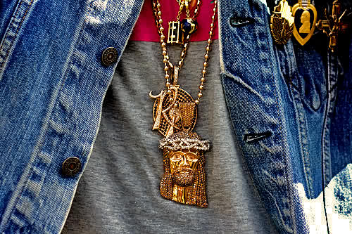 Biggie Jesus Piece Chain