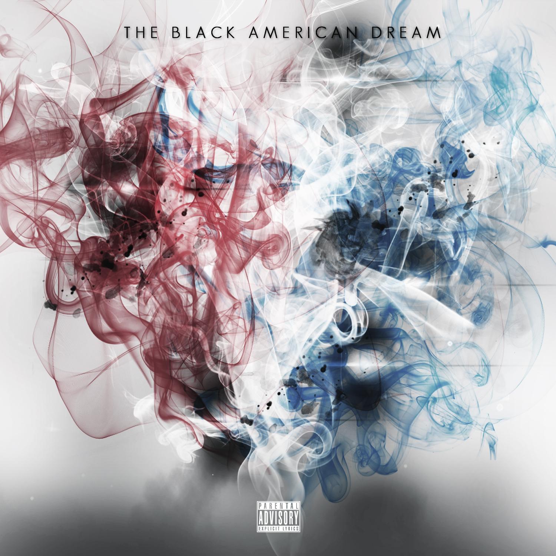 The Black American Dream Cover Draft 3 White w Title